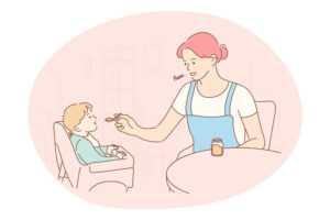 איך ללמד ילד לאכול לבד?